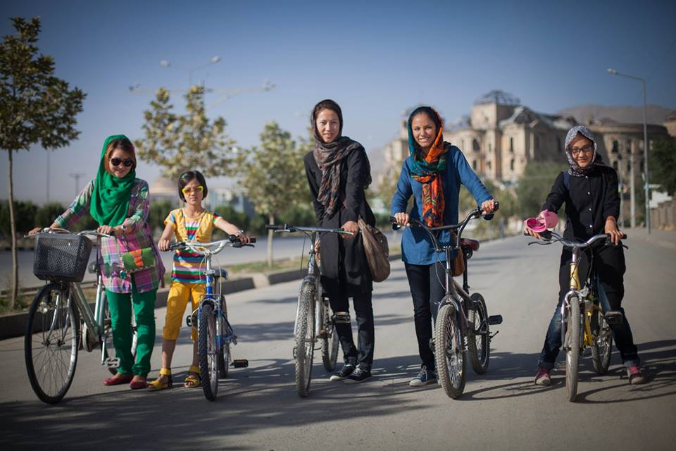 Girls Who Bike by Humans of Kabul