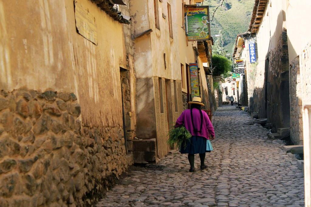 The Streets of Ollantaytambo, Peru