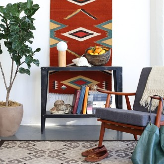 Handwoven rugs from Oaxaca, Mexico