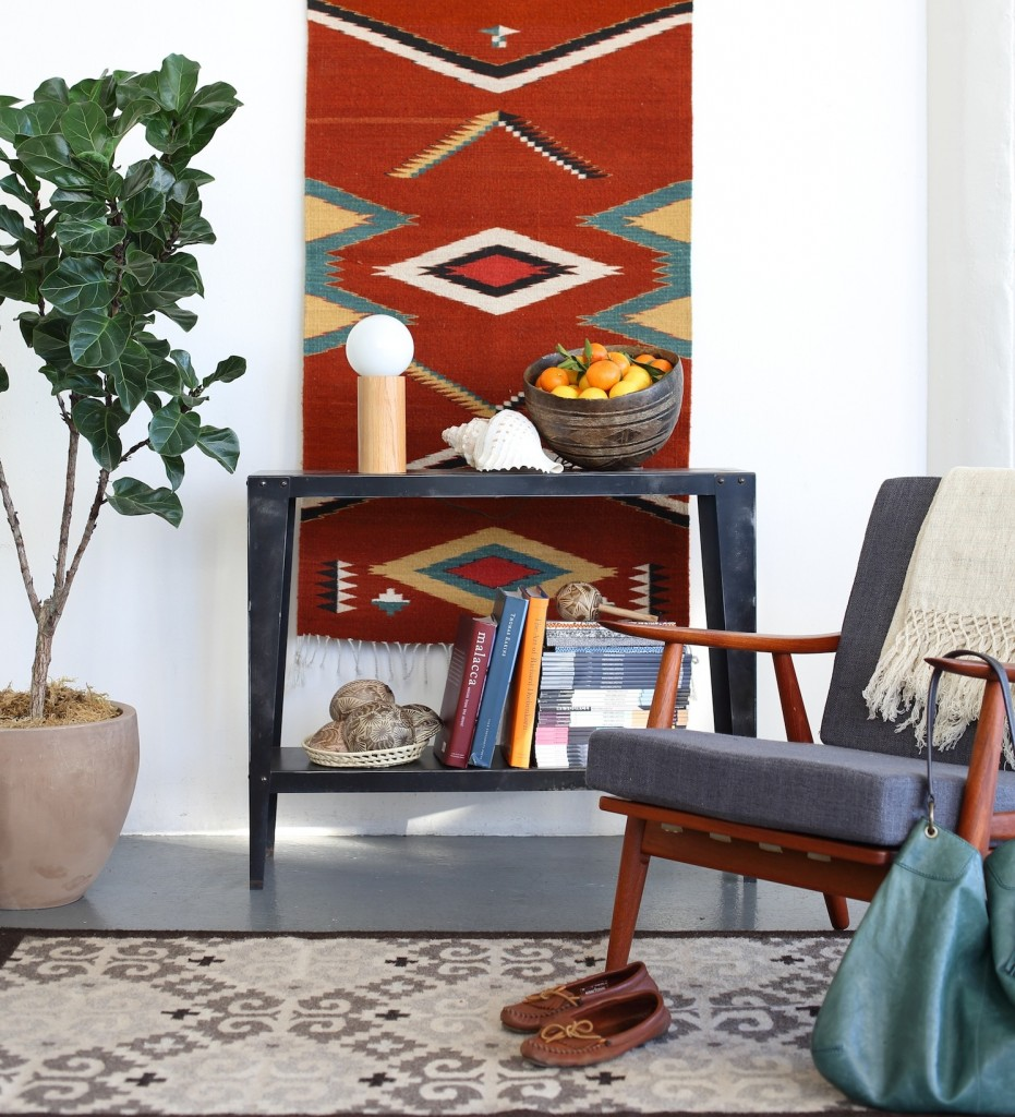 Handwoven rugs from Mexico