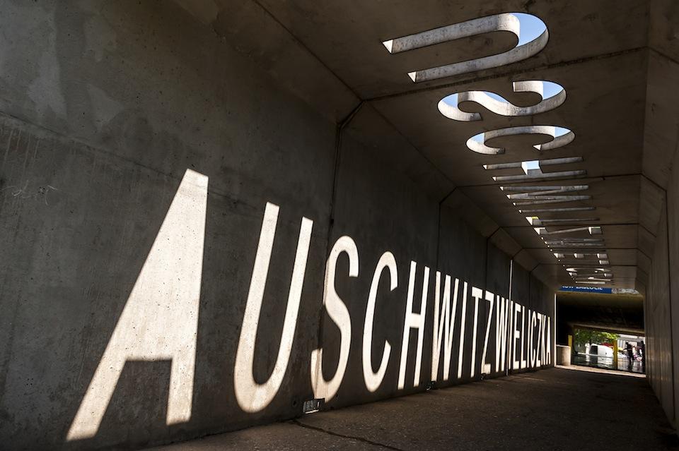 AUSCHWITZWIELICZKA, an installation by Polish artist Mirosław Bałka
