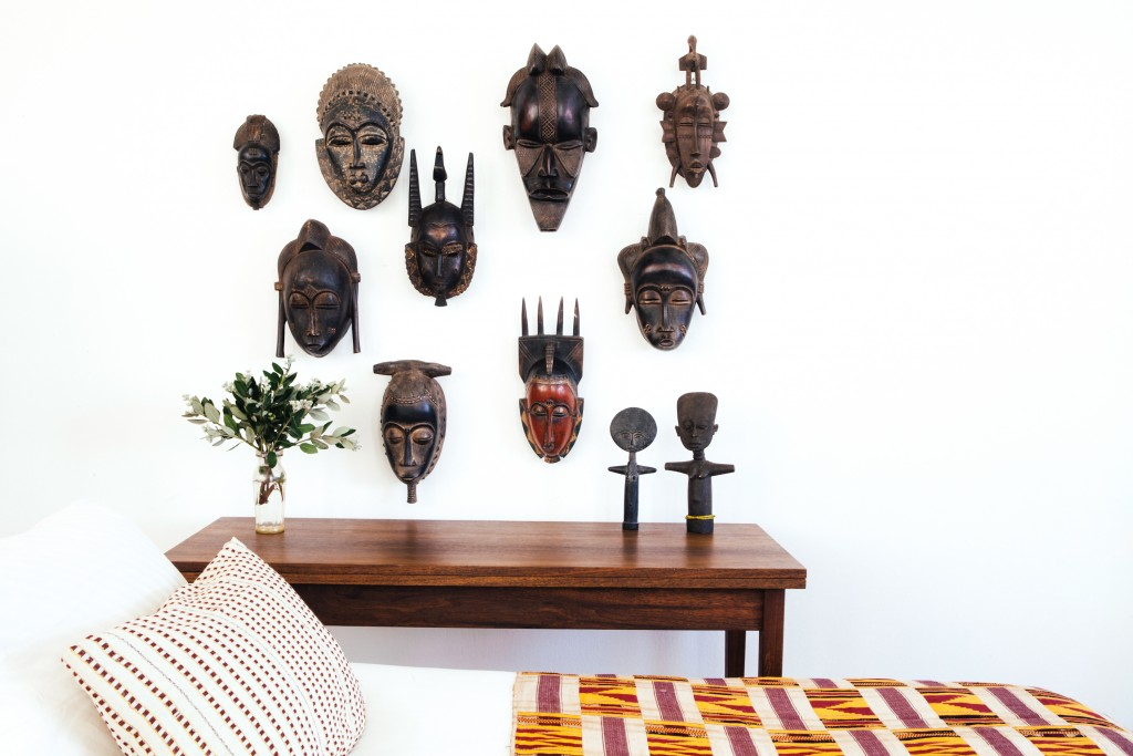 Ceremonial West African Masks