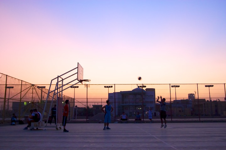 Basketball in Iraq