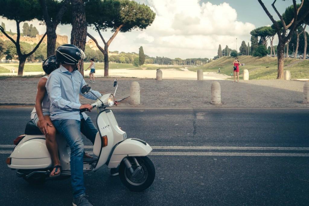 Scooteroma, Circo Massimo